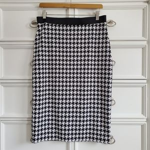Alfani Houndstooth Pencil Skirt